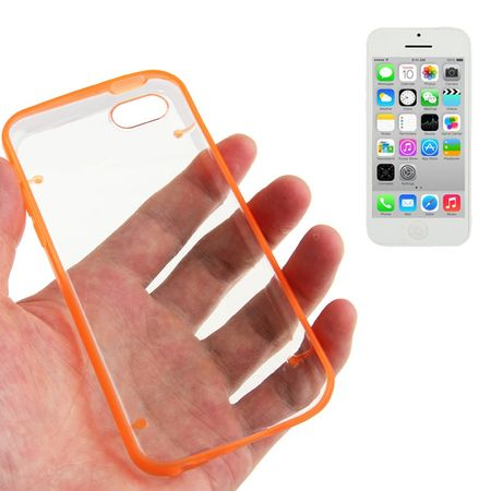 Schutzhülle Hard Case für Handy Apple iPhone 5C Orange