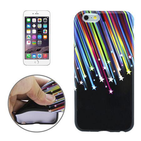 Schutzhülle Handytasche Etuis TPU für Handy Apple iPhone 6 Plus Motiv Stars & Stripes