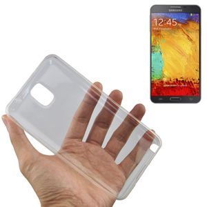 Samsung Galaxy Note 3 Transparent Case Hülle Silikon