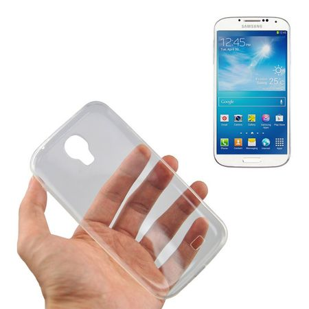 Samsung Galaxy S4 Transparent Case Hülle Silikon