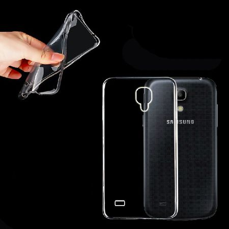 Samsung Galaxy S4 Mini Transparent Case Hülle Silikon