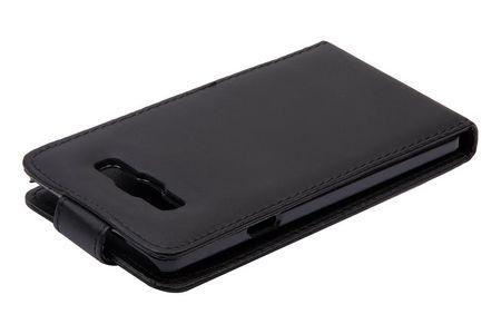 Handyhülle Schutzhülle Flip Handytasche für Samsung Galaxy A7 A700F Schwarz – Bild 4