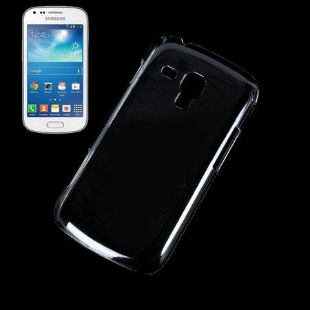 Schutzhülle Case Hard Cover für Handy Samsung Galaxy S Duos S7562 Transparent – Bild 1