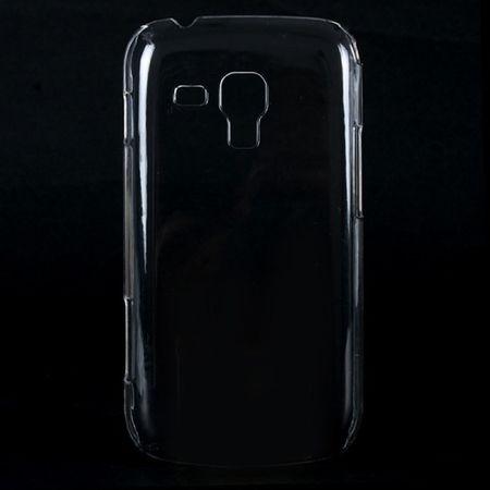 Schutzhülle Case Hard Cover für Handy Samsung Galaxy S Duos S7562 Transparent – Bild 4