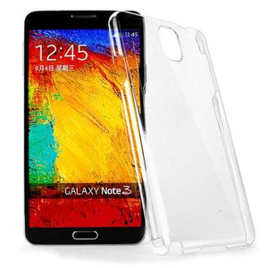 Schutzhülle Case Hard Cover für Handy Samsung Galaxy Note 3 Transparent