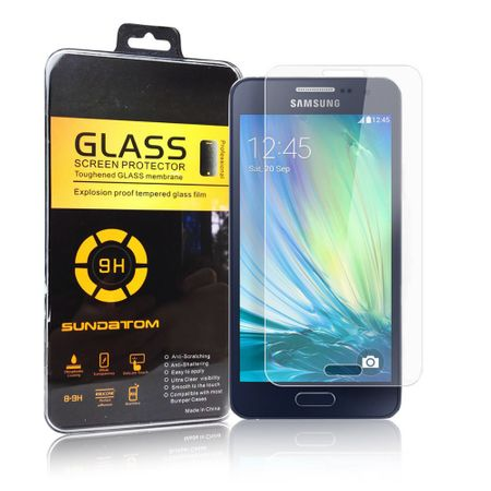 Schutz Folie Displayschutz Glasfolie Panzer Schutz Glas Screen Protect Samsung Galaxy A3