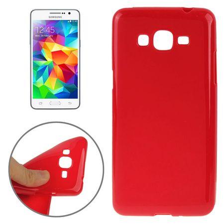 Schutzhülle TPU Case für Handy Samsung Galaxy Grand Prime SM-G530H Rot