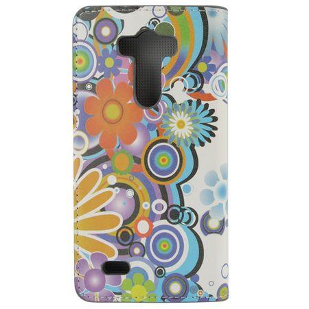 Handyhülle Tasche für Handy LG G3 Retro Muster – Bild 4