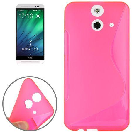 Handyhülle TPU-Schutzhülle für HTC One E8 Pink
