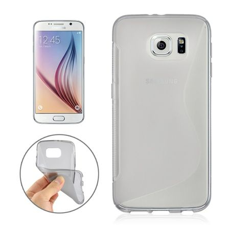 Handyhülle TPU-Schutzhülle für Samsung Galaxy S6 SM-G920F Grau
