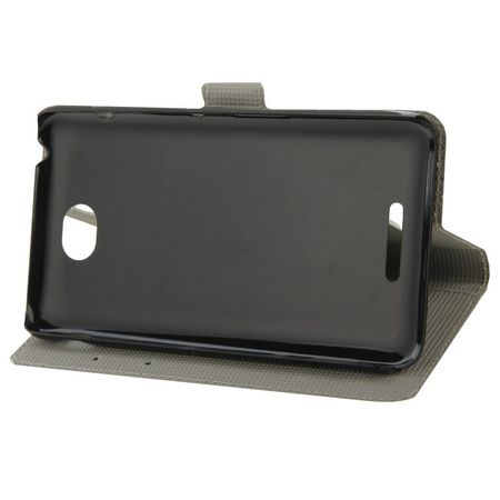 Handyhülle Tasche für Handy Sony Xperia E4 Zebra Streifen – Bild 5