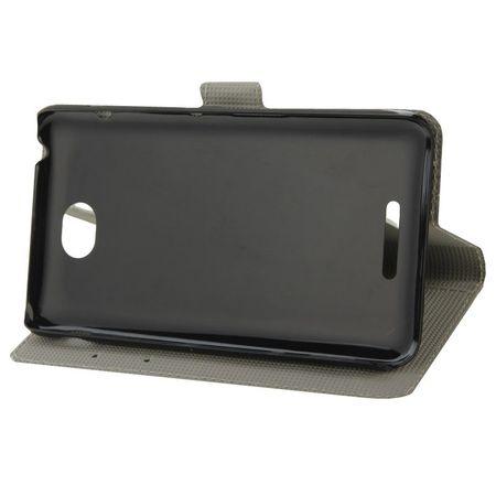 Handyhülle Tasche für Handy Sony Xperia E4 Eulen Paar Verliebt – Bild 5