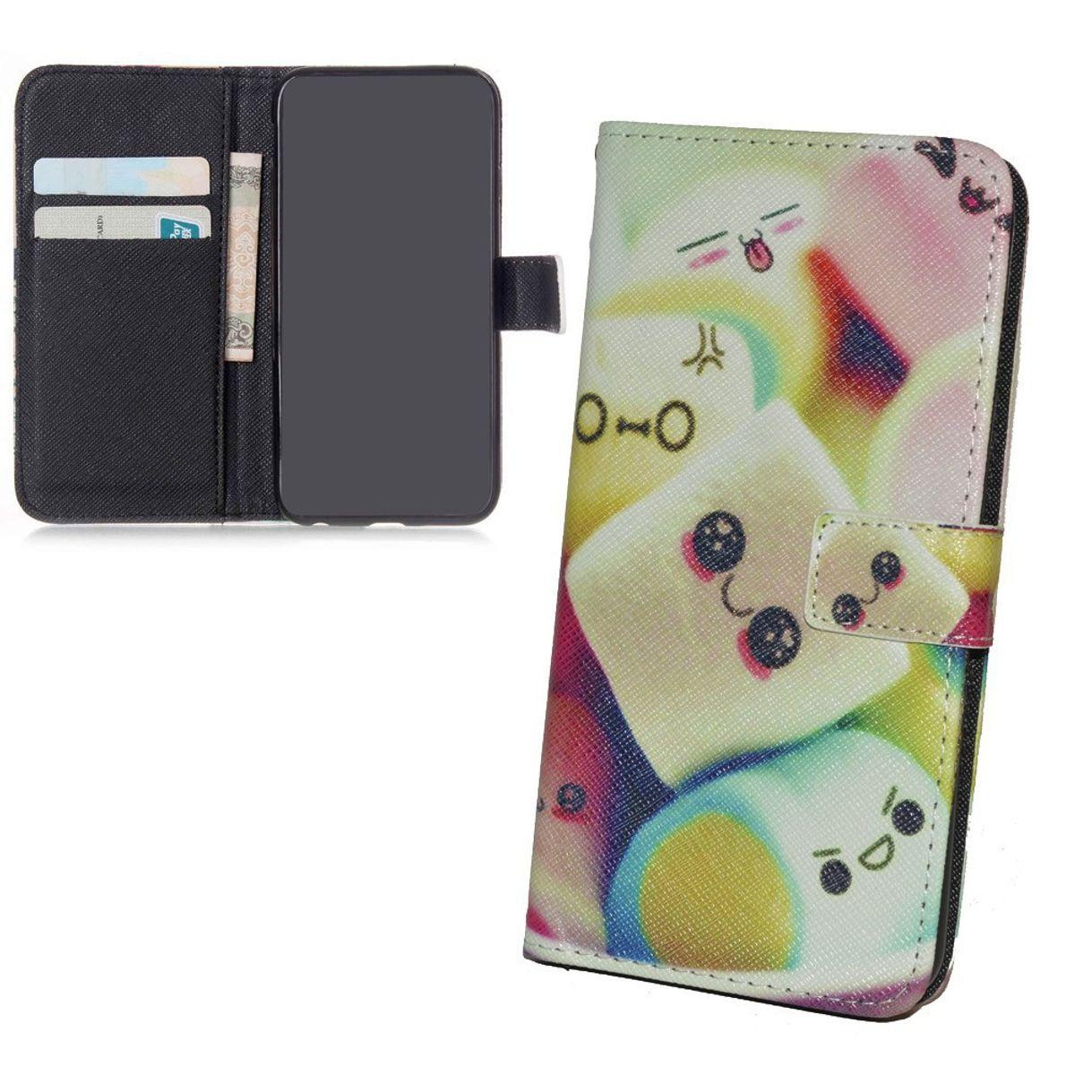 Handyhülle Tasche für Handy Samsung Galaxy J1  Marshmallows