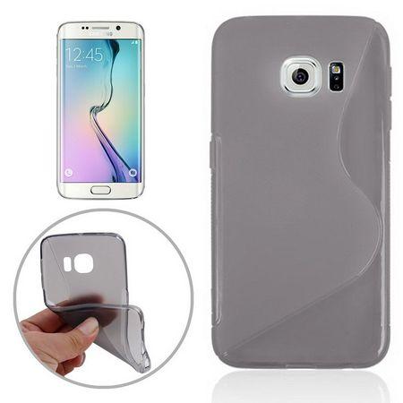 Handyhülle TPU Case für Handy Samsung Galaxy S6 Edge SM-G925 Grau