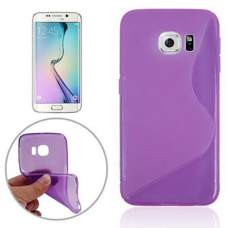 Handyhülle TPU Case für Handy Samsung Galaxy S6 Edge SM-G925 Lila / Violett