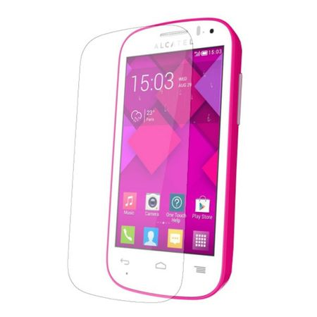 Alcatel One Touch Pop C3 Displayschutzfolie 9H Verbundglas Panzer Schutz Glas Tempered Glas
