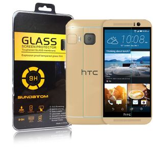 HTC One M9 Displayschutzfolie 9H Verbundglas Panzerglas Tempered Glas