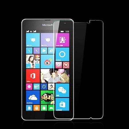 Nokia Lumia 730 Displayschutzfolie 9H Verbundglas Panzer Schutz Glas Tempered Glas