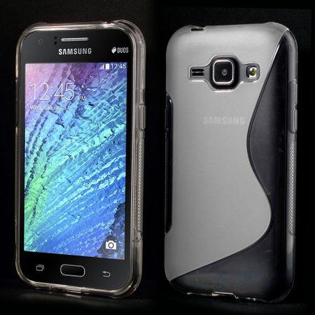 Handyhülle TPU-Schutzhülle für Samsung Galaxy J1 Transparent