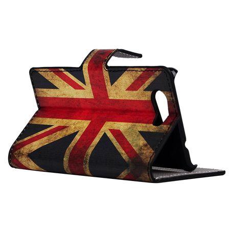 Handyhülle Tasche für Handy Sony Xperia Z4 Compact Retro Fahne England / UK – Bild 5