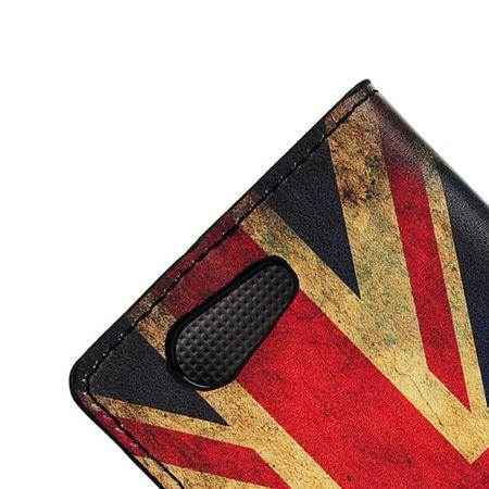 Handyhülle Tasche für Handy Sony Xperia Z4 Compact Retro Fahne England / UK – Bild 6