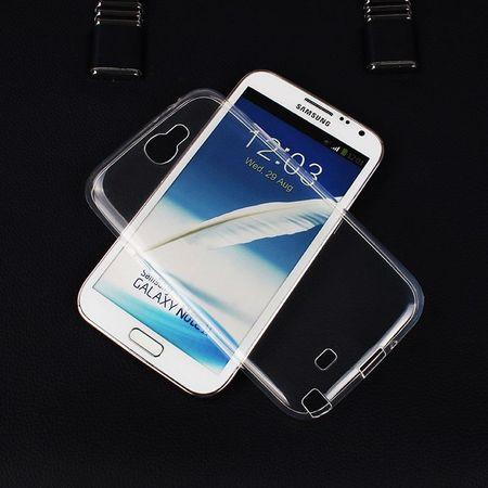 Samsung Galaxy Note 2 N7100 Transparent Case Hülle Silikon – Bild 1