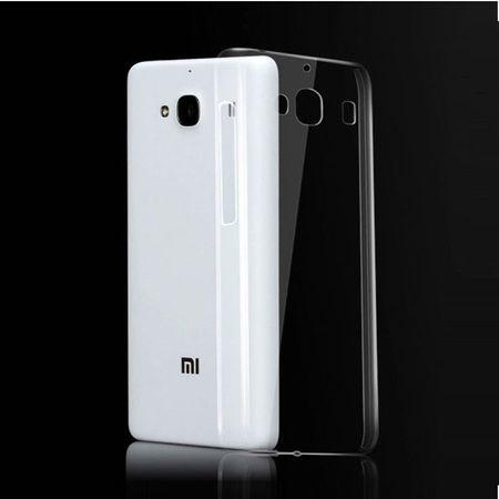 Xiaomi Redmi 2 Transparent Case Hülle Silikon