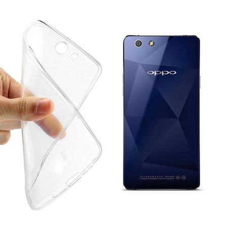 Oppo R1x Transparent Case Hülle Silikon