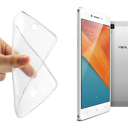 Oppo R7 Transparent Case Hülle Silikon