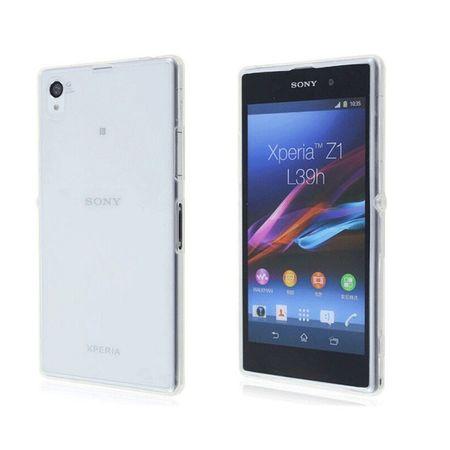 Sony Xperia Z1 Transparent Case Hülle Silikon