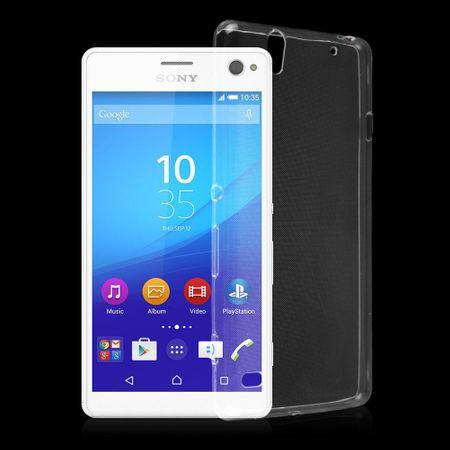 Sony Xperia C4 Transparent Case Hülle Silikon