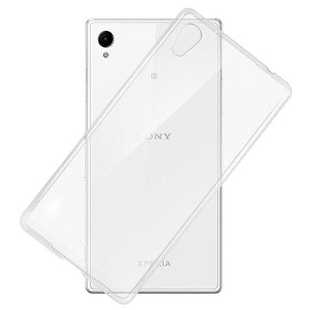 Ultra Dünn Schutzhülle Handytasche Etuis TPU für Handy Sony Xperia Z5 Transparent Klar – Bild 2