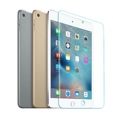 Apple iPad mini 4 Displayschutzfolie 9H Verbundglas Panzer Schutz Glas Tempered Glas – Bild 1