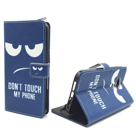Dont Touch My Phone Handyhülle Huawei G8 Klapphülle Wallet Case