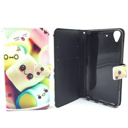 Handyhülle Tasche für Handy Wiko Pulp Schriftzug Marshmallows – Bild 4