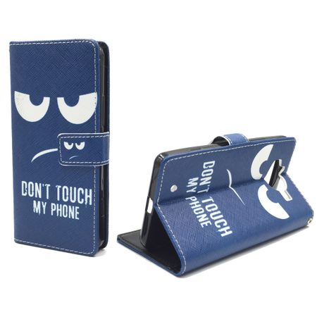 Handyhülle Tasche für Handy Microsoft Lumia 950 Dont Touch my Phone
