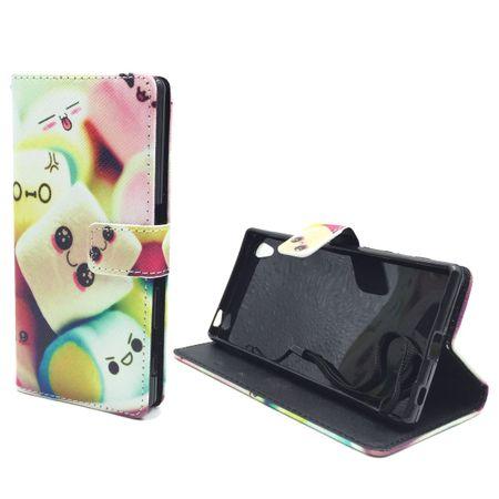 Handyhülle Tasche für Handy Sony Xperia Z5 Premium Schriftzug Marshmallows – Bild 2