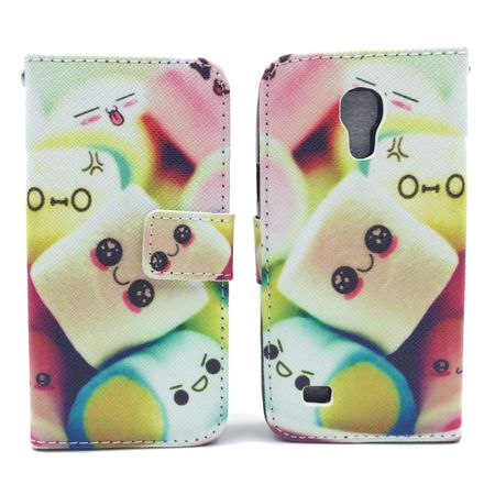Handyhülle Tasche für Handy Samsung Galaxy S4 Mini Schriftzug Marshmallows – Bild 3