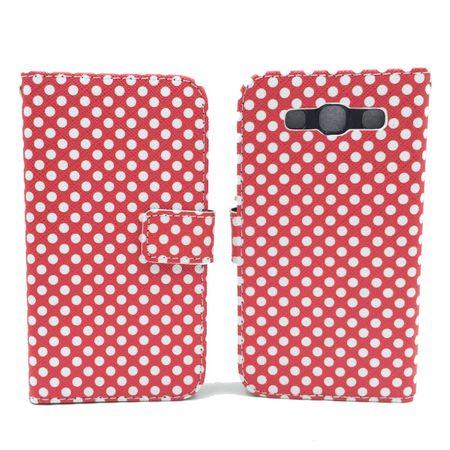 Handyhülle Tasche für Handy Samsung Galaxy S3 / S3 Neo Polka Dot Rot