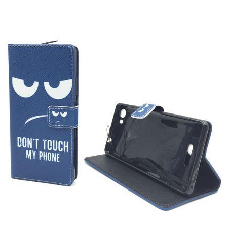 Handyhülle Tasche für Handy Wiko Fever 4G  Dont Touch my Phone – Bild 5