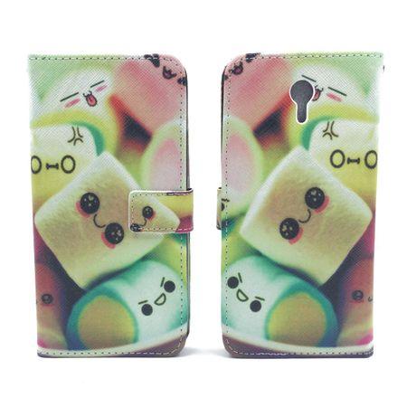 Handyhülle Tasche für Handy Lenovo ZUK Z1 Schriftzug Marshmallows – Bild 3