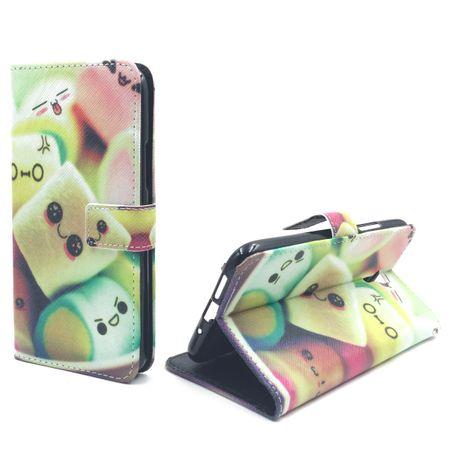 Handyhülle Tasche für Handy Lenovo ZUK Z1 Schriftzug Marshmallows – Bild 4