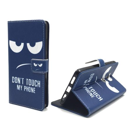 Dont Touch My Phone Handyhülle Huawei Honor 5X Klapphülle Wallet Case