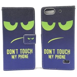 Dont Touch My Phone Handyhülle Huawei G Play Mini Klapphülle Wallet Case