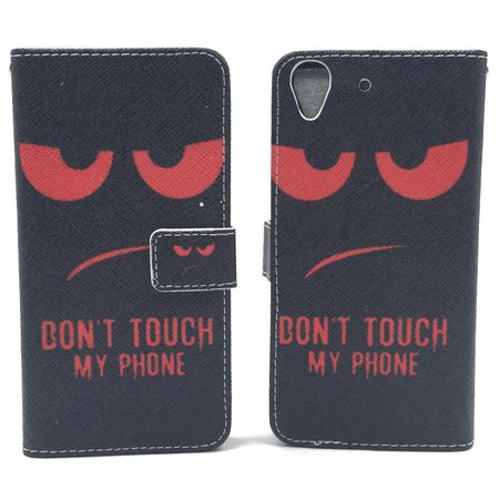 Dont Touch My Phone Handyhülle Huawei Y6 Klapphülle Wallet Case – Bild 1