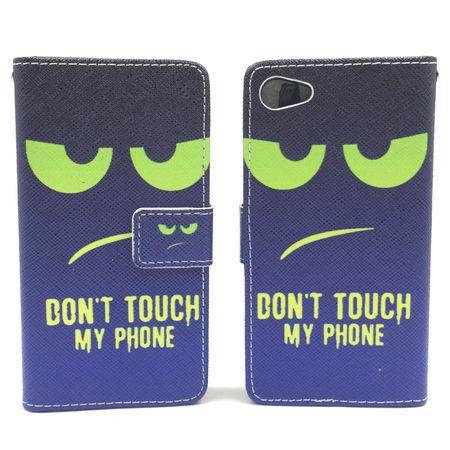 Handyhülle Tasche für Handy Sony Xperia Z5 Compact Dont Touch My Phone Grün