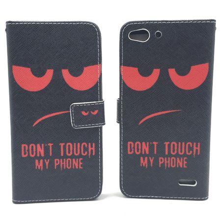 Handyhülle Tasche für Handy Vodafone Smart Ultra 6 Dont Touch My Phone Rot – Bild 6