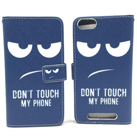 Handyhülle Tasche für Handy Wiko Jerry  Dont Touch my Phone – Bild 6