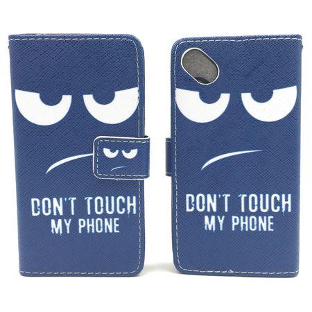 Handyhülle Tasche für Handy Wiko Sunny  Dont Touch my Phone – Bild 3