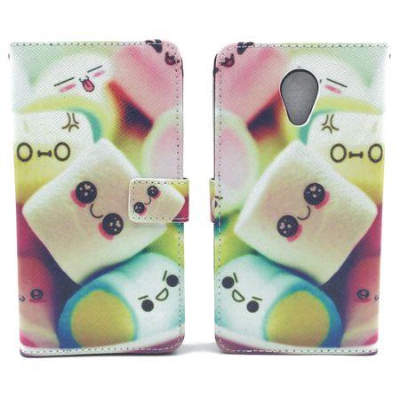 Handyhülle Tasche für Handy Wiko Robby  Schriftzug Marshmallows – Bild 3